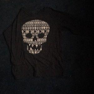 Tops - A dark grey shirt